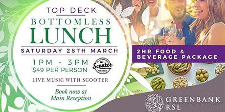 Greenbank RSL Bottomless Lunch tickets