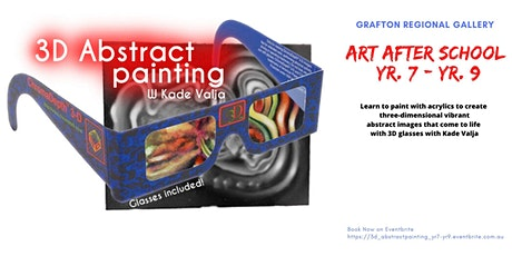3D Abstract Painting for Yr 7-Yr 9 with Kade Valja tickets