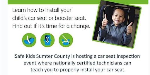 Safe Kids Sumter County Car Seat Checkup