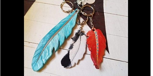Leather Key Ring  Workshop