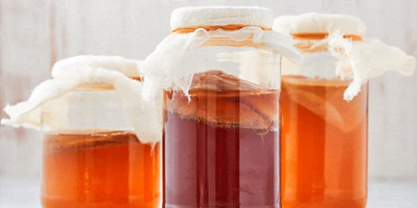 Organic Kombucha workshop tickets