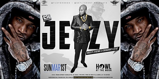 JEEZY LIVE! Sunday Brunch & DayParty @Howl at the Moon Ci tourney weekend