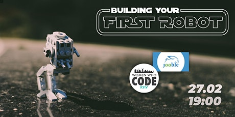 Building your first robot tickets