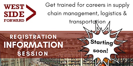 Careers in Transportation Distribution & Logistics (Info Session) tickets