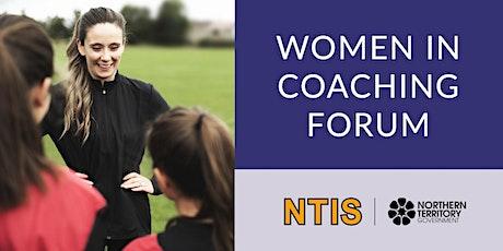 Women in Coaching Forum tickets