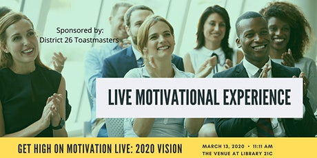 Get High On Motivation LIVE 2020 Vision w/Mimi the Motivator tickets