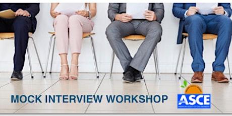 ASCE OC- Mock Interview Workshop 2020 tickets