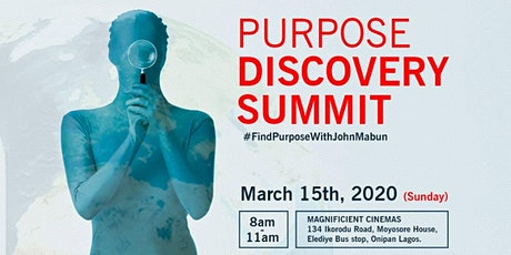 PURPOSE SUMMIT SPECIALS tickets
