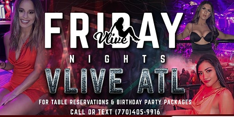 FRIDAY NIGHTS AT V-LIVE tickets