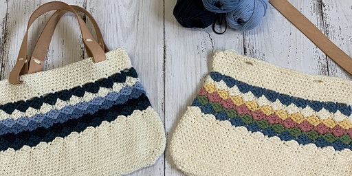 12 months of Crochet Tote Bag