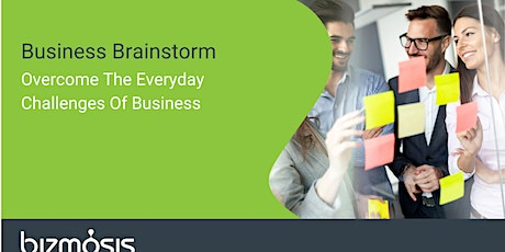 Business Brainstorm. Overcoming Important Business Challenges. tickets