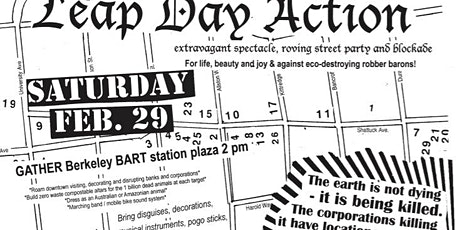 Leap Day Climate Emergency Action 2020 in Berkeley tickets
