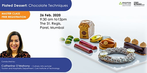 Attend a Free Master Class on Plated Dessert: Chocolate Techniques