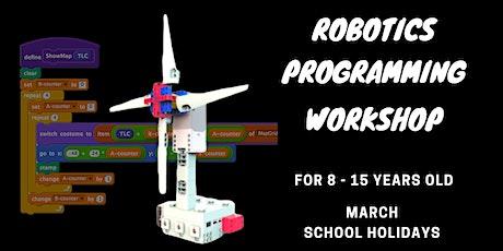 Robotics Programming Workshop at Somerset [8-15 Y.O] tickets