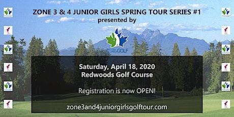 Zone 3 & 4 Junior Girls Spring Tour Series #1 tickets