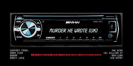 Chargie ft. Murder He Wrote [UK] tickets