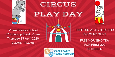 Circus Play Day 2020 tickets