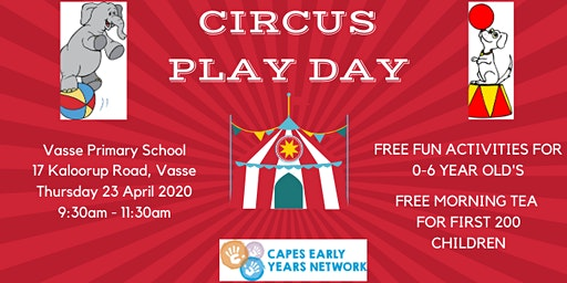 Circus Play Day 2020