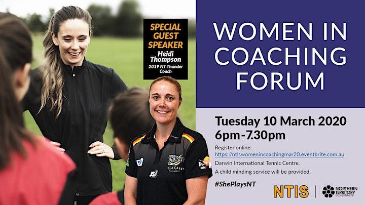 Women in Coaching Forum image