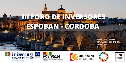 "III FORO DE INVERSORES ""ESPOBAN - CÓRDOBA"""