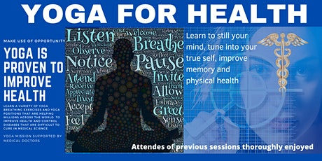 Yoga Empowerment for Health tickets
