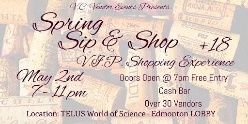Sip & Shop  +18