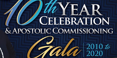 HOGAM 10th Year Celebration & Apostolic Commissioning Gala tickets