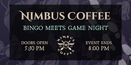 Nimbus Coffee x Game Night tickets