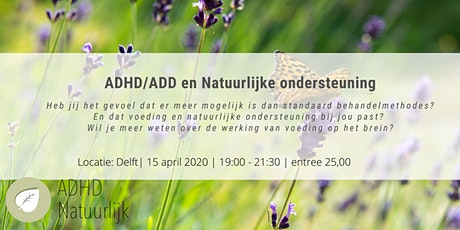 ADHD Natuurlijk tickets