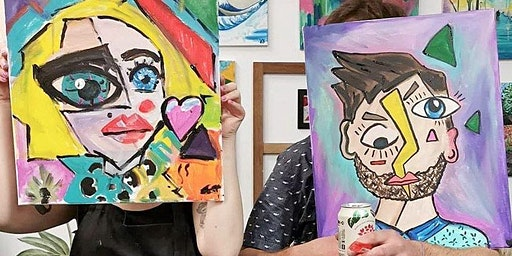 "Paint Night: Paint Your Partner ""Picasso Style"""