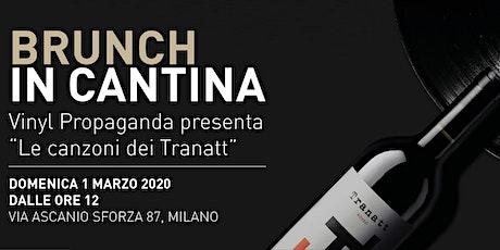 Brunch in Cantina Urbana con Vinyl propaganda biglietti