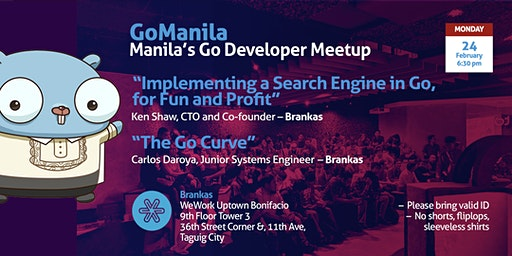 GoManila Mondays @ WeWork - February 2020