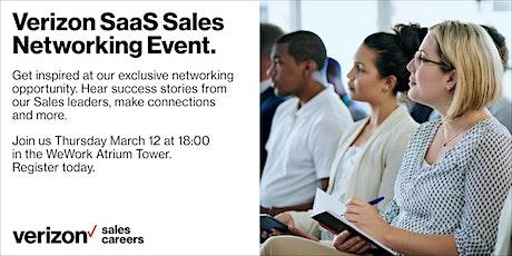 Verizon SaaS Sales Networking Event Berlin tickets