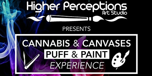 Cannabis and Canvases Puff-n-Paint Experience-  St. Patrick's Day Theme