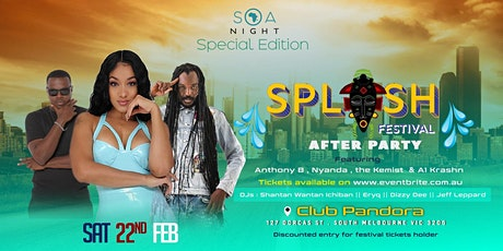 SOA SPECIAL EDITION: Melbourne Splash Festival After Party! tickets