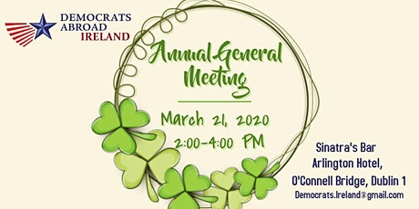 2020 DA Ireland Annual General Meeting & Special Election tickets
