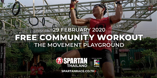 SPARTAN COMMUNITY WORKOUT AT THE MOVEMENT PLAYGROUND SUKHUMVIT 69
