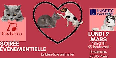 Soirée conférence : le bien-être animalier Paris billets