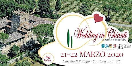 Wedding in Chianti, un territorio da sposare biglietti