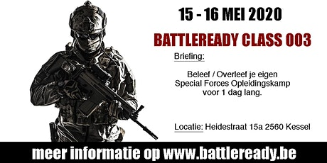 Battleready Class 003 tickets