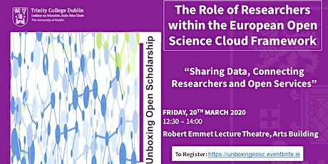 The Role of Researchers within the European Open Science Cloud Framework tickets