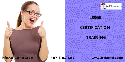 LSSGB Certification Training in Frankfort, KY,USA
