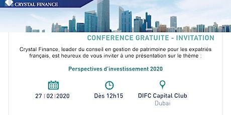 "Perspectives d'investissement 2020"" billets"
