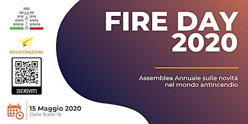 Associazione MAIA presenta Fire Day 2020