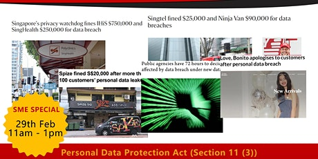 Personal Data Proection Act (PDPA) Compliance Seminar tickets
