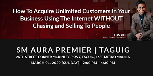 Internet Business Launch Seminar-Taguig