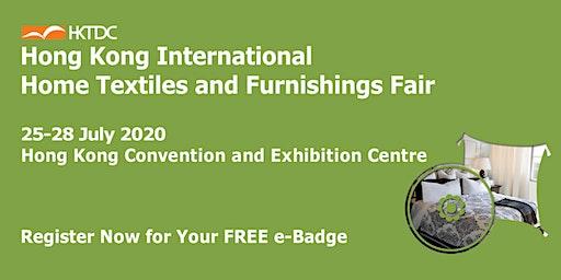 HKTDC Hong Kong International Home Textiles and Furnishings Fair