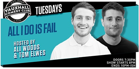AIDIF TUESDAYS - WITH TOM ELWES & ALI WOODS  tickets