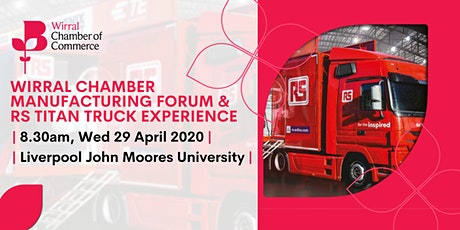 Manufacturing Forum - RS Titan Truck Experience tickets