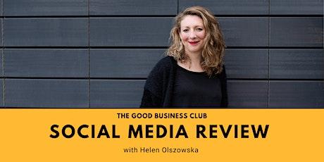 Social Media Review with Helen Olszowska tickets